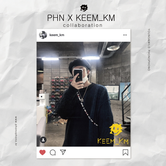"""PHN"" x ""KEEM_KM"" [iPhone]"