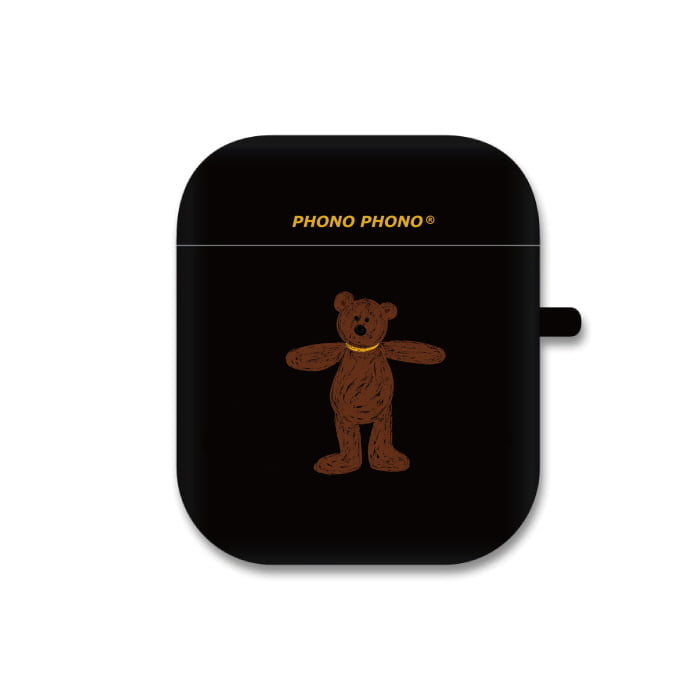"""BEAR DOLL"" AIRPODS CASE"