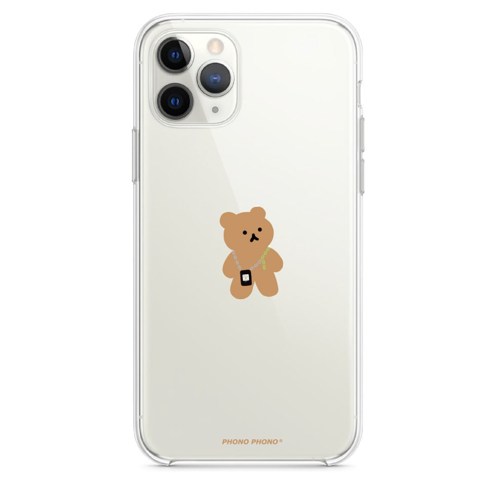 """PHONO BEAR"" clear case #2"