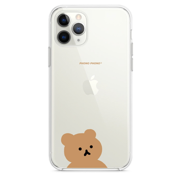 """PHONO BEAR"" clear case #1"